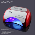 LKE  Nail Dryer 48 W  CCFL LED UV Lamp  For Nail Gel Polish Curing Nail Lamp Dryers Art tools with Automatic sensor