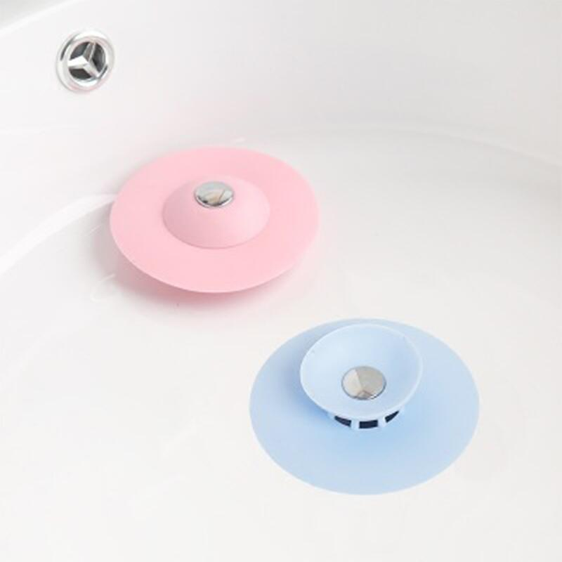 1pc-kitchen-press-bounce-closed-silicone-floor-drain-bathroom-deodorant-anti-clogging-plastic-sink-filter-drain-core-lw0105348