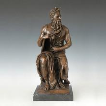 ATLIE BRONZES Greek Mythology Religious Statues Bronze Moses Statue Signed Sculpture artwork  Collections цена в Москве и Питере