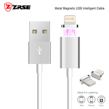 Magnetic Charger Cable 2A usb Adapter For iPhone 5 5S SE 6 6S 7 Plus iPad 4 5 Air for Lightning Cable Magnet Fast Charging Sync