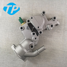 Алюминиевый корпус термостата Охлаждающая вода фланец для Citroen BX C15 C3 MK/для peugeot 1007 205 206 1336. Y8 9654775080 1336Y8