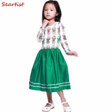 Seartist 2019 New Baby Girls Dress Girl Spring Long Sleeved Princess Birthday Casual Dresses Clothes Dropshipping 30