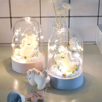 Unicorn LED Night Light Home Decoration 5