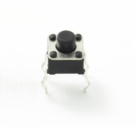 1000pcs/lot Tact Switch 4.5x4.5x4.5 Mm Right Angle Snap-in Through Hole 3 Terminal Contact Push Button Switches Rohs Reach Refreshment Switches Lighting Accessories