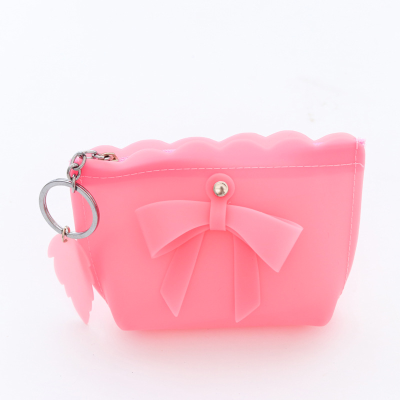 Women Silicone Coin Purse Girls Cute Fashion Ladies Kids Mini Wallet Bag Change Pouch Key Holder Small Money Bag High Quality 2017 new fashion design women cute pu leather change purse wallet bag girls coin card money pouch portable purse small bag jan12