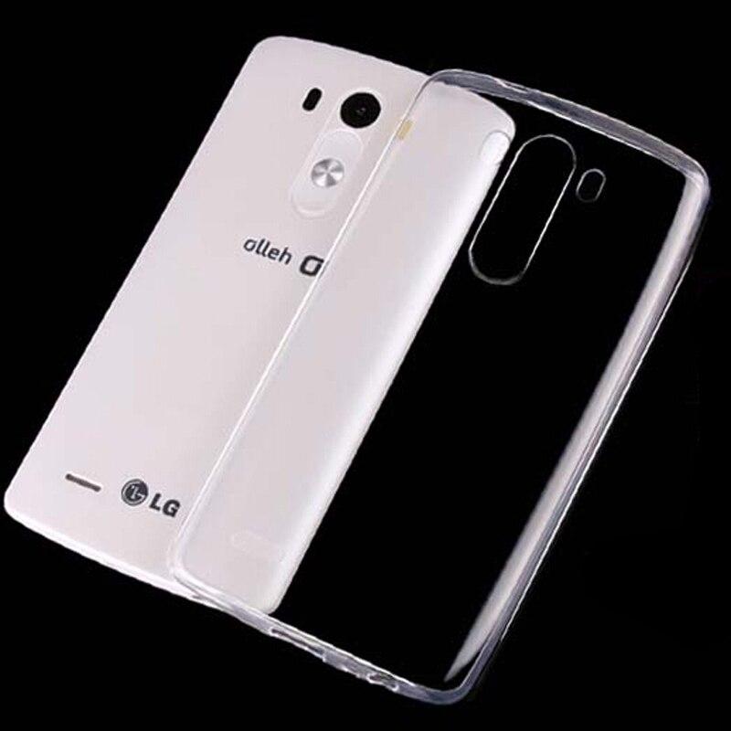 Новый 0.3 мм прозрачный ультра тонкий мягкий ТПУ Силиконовая сотовый телефон В виде ракушки обложка кожа чехол для LG V10 f600 h968/G4 Pro 5.7