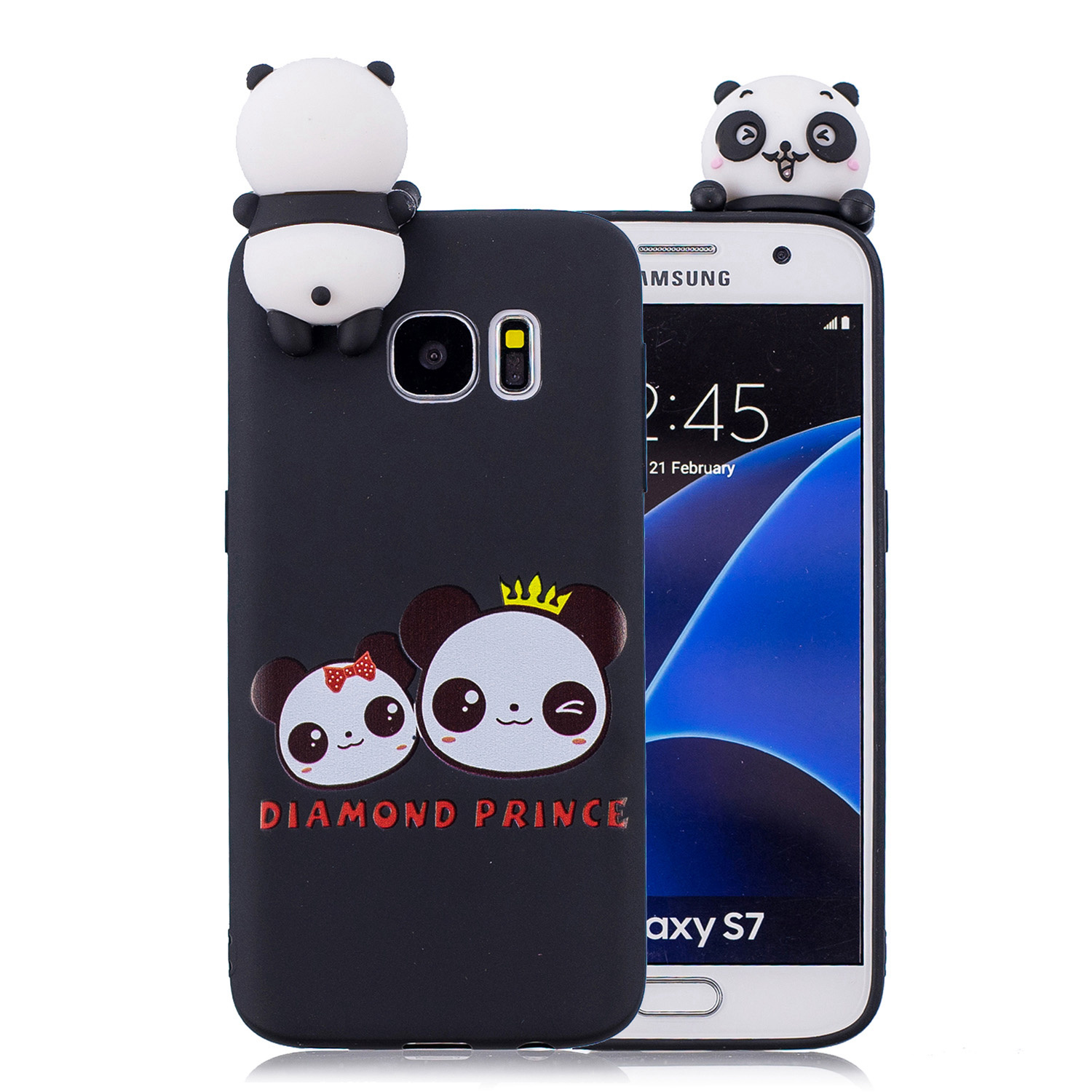 Lovely Cartoon Squishy Phone Cases for samsung galaxy S7 Case Cute Smiling Cloud Soft Silicone stress relief cover