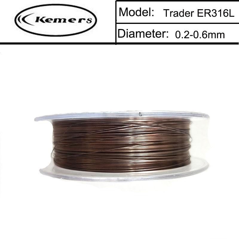 5 X 10m rollos de cables de alambre elástico elástico transparente 0.6mm de espesor roscado