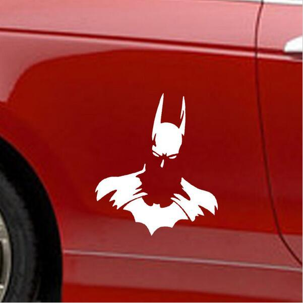 1PC 12*11cm 2018 new style car styling Classic Movie Batman car stickers for Truck Decor  car door body car accessories