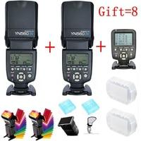 For Nikon Canon DSLR Camera Master LCD Speedlite Flash YONGNUO YN560 IV YN560IV YN560 IV X2+ YN 560TX Wireless Flash Controller