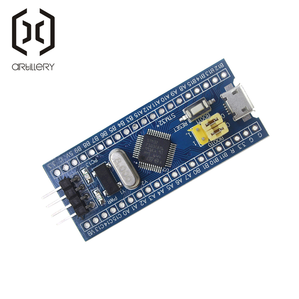 Image 2 - STM32F103C8T6 ARM STM32 Minimum System Development Board Module-in Integrated Circuits from Electronic Components & Supplies