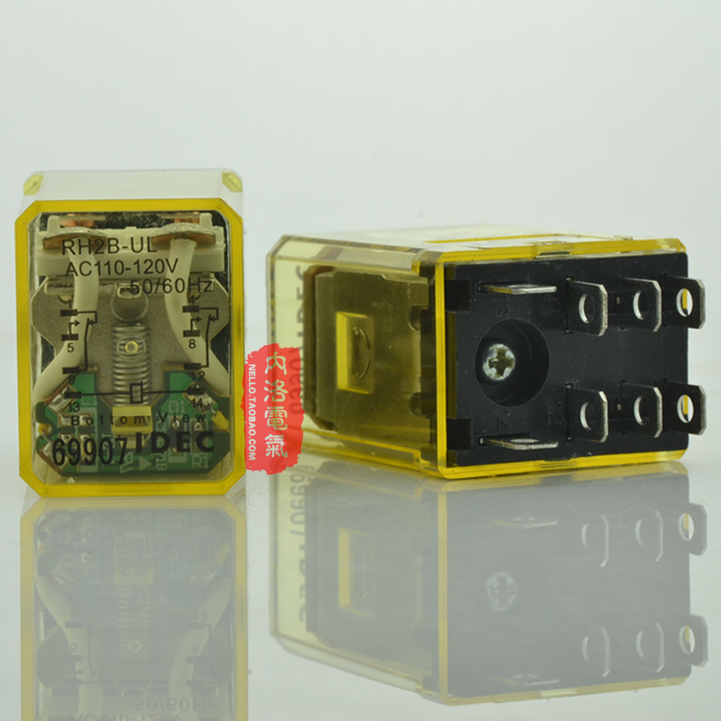 compare prices on idec relays online shopping buy low price idec sa idec izumi relay rh2b ul ac110 power indicator type 10a ac110v 2a2b