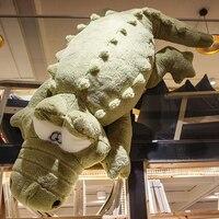 200 см большой гигантского крокодила огромный гигантского аллигатора мягкие игрушки чучело подушки подруга подарок плюшевые кровать подушк