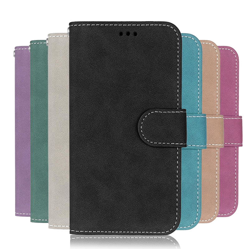 For LG X Cam Case Luxury Retro Wallet PU Leather Back Cover Phone Case For LG X Cam K580 K580DS Case Flip Protective Bag Skin