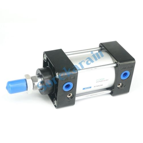 SC50x25S With Magnet Bore 50mm Stroke 25mm Double Acting Standard Pneumatic Air Cylinder Port Size 1/4 free shipping 32mm bore sizes 75mm stroke sc series pneumatic cylinder with magnet sc32 75