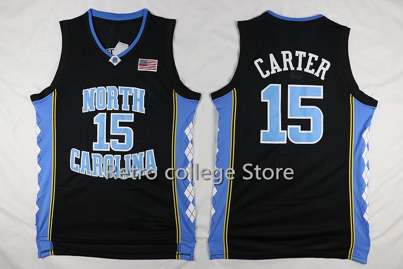c56c74060 2016 Vince Carter  52 James Worthy  42 Jerry Stackhouse  15 north carolina  tar heels Basketball jersey retro College Jersey thr
