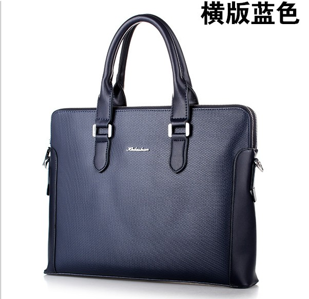HK dashan brand 2016 new men's briefcase pu leather  high quality business man dress black handbags briefcases shoulder bags 2016 high quality top version hk 8016 water ionizer