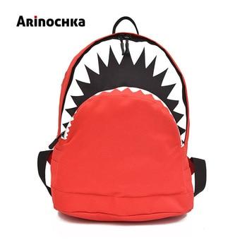 a4d688631db9 Детская школьная сумка с 3D рисунком акулы, новый милый рюкзак-Акула для  мальчиков и девочек, детские рюкзаки для детского сада