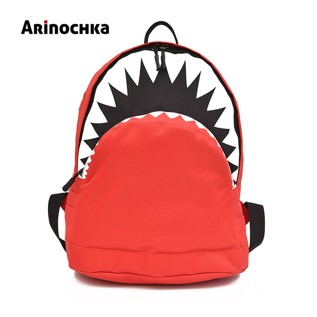 Kids 3D Shark Cartoon School Bag New Boys Girls Cute Shark Backpack  Children Animal 1-