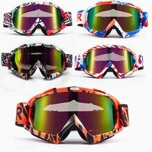 d6ce6243e97fb Chegada nova Alta qualidade transparente Esporte de corrida off road  motocross goggles óculos para a motocicleta