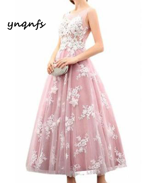 5cbabe867dd ynqnfs Dark pink lace flower children s clothing two-color flower girl  dresses back perspective style
