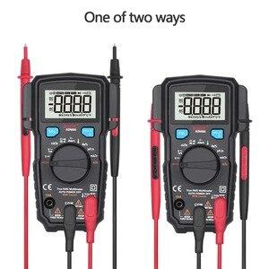 Image 3 - BSIDE multimètre numérique ADM66 True RMS, à intervalle automatique, TRMS, Mini 6000 DMM, capacité à double fente, ohm Hz, Temp NCV