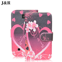 Cartoon Patern Case For LG K3 4.5 inch Wallet Leather Case For LG K3 LTE K100 K100DS LS450 Luxury Filp Cover Phone Bags & Cases