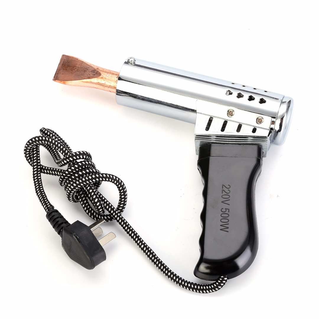 Mayitr Soldering Iron Heavy Duty Chisel Tip Tool Point Copper Tip Craft Manufacturing 500W 220V Power Tool