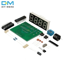 AT89C2051 Digital LED Display 4 Bits Electronic Clock Electronic