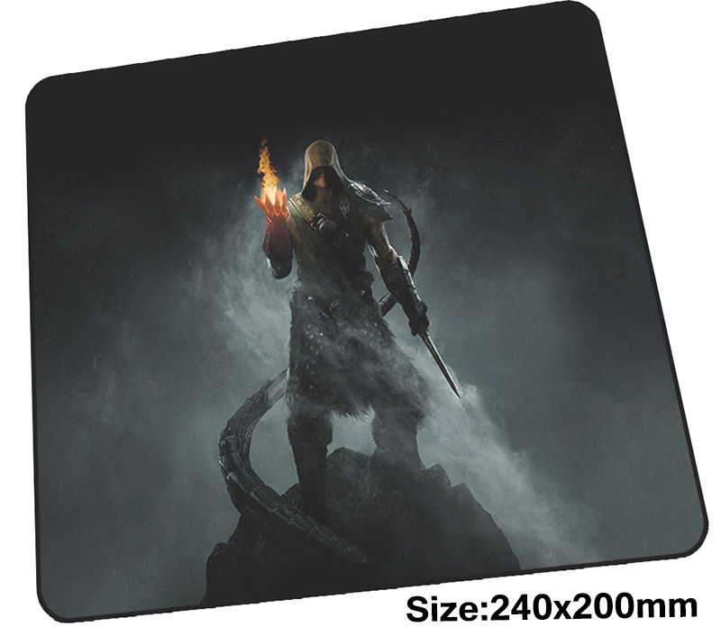 skyrim mouse pad 240x200x3mm mousepads best gaming mousepad gamer locrkand personalized mouse pads High-end pc pad