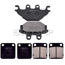цена на For SYM Quadraider 600 2006 2007 FA054TT FA377TT Motorcycle Front Rear Brake Pads Brake Disks
