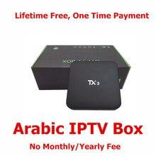 Livraison pour toujours Arabe IPTV Box, 16.0 KODIOS Foulés Chargement Arabe IP TV Box, Amlogic S905 IP Arabe TV Box Avec 4 K Livraison Arabe IPTV
