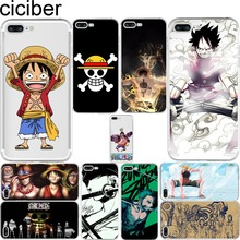One Piece Comics Luffy Soft Silicone Phone Cases Cover for Iphone 6 6S 7 7 Plus 5S SE Coque Fundas Capinha Capa