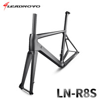 Disc Road Bike Carbon Road Frame Thru Axle 142mmX12mm And 100mmX12mm Thru Axle Road Frame