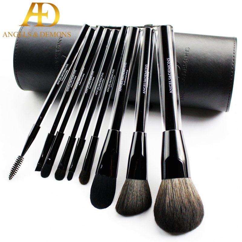 beauty brush sets 10pcs Cosmetic Makeup Brushes Set Blusher Eye Shadow Brow Lip Powder Foundation Make up Brush kit Beauty jessup 10pcs makeup brushes sets beauty synthetic hair make up brush tool foundation powder lash brow grommer cosmetics tools