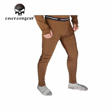 EMERSON Winter Warm Tactical Underwear Ultralight Breathable Long Pants Hunting Sport Hiking Camping Trousers Wear EM6809 ?