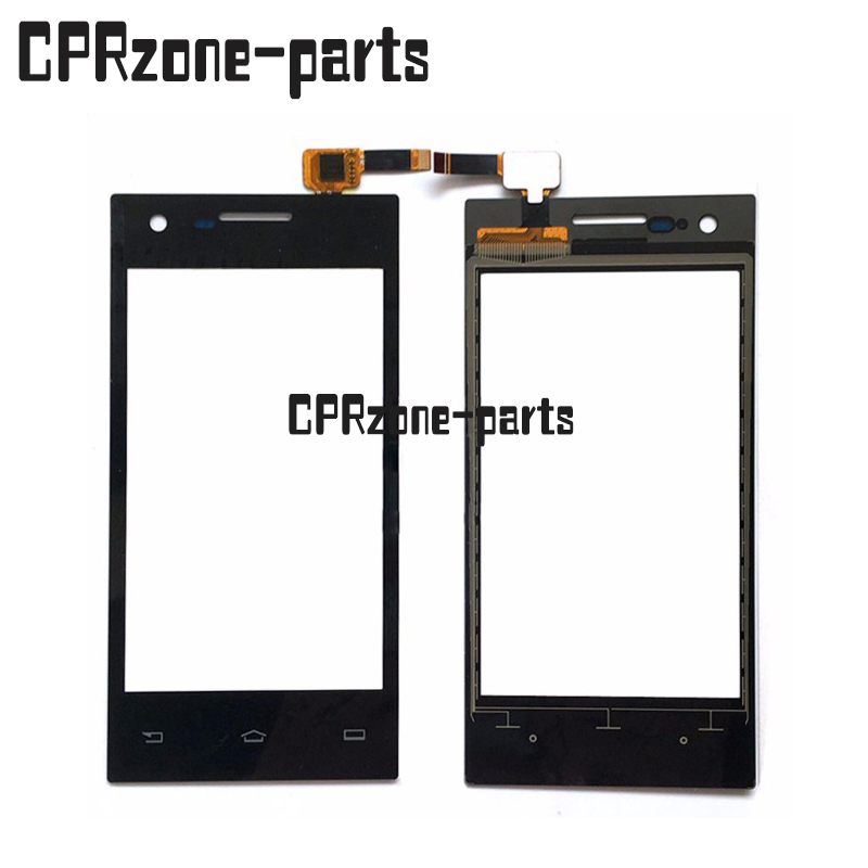 100% Warranty Black Touch Screen Digitizer Glass Sensor For Philips S309 By Free Shipping