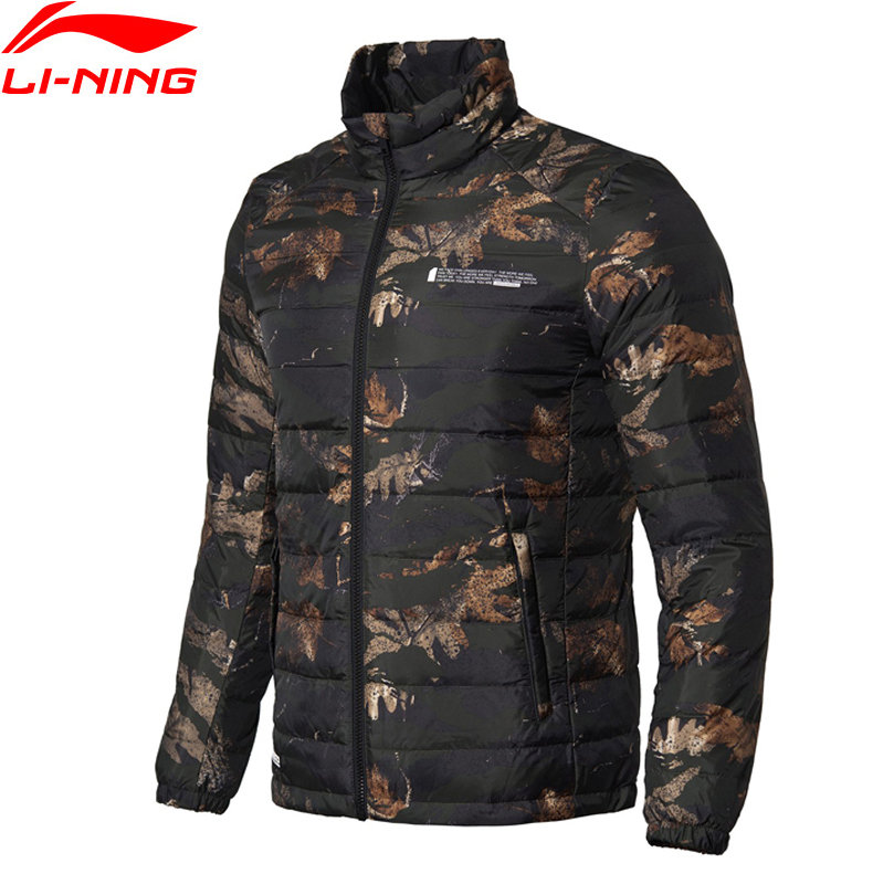 Li-Ning Men BAD FIVE Basketball Down Coat Short Warm Slim Fit Grey Duck Down Filling LiNing Sports Coat AYMN017 MWY305Li-Ning Men BAD FIVE Basketball Down Coat Short Warm Slim Fit Grey Duck Down Filling LiNing Sports Coat AYMN017 MWY305
