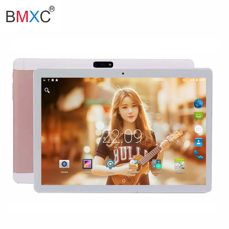Original 3G pad tablet Android 7.0 10 inch IPS Screen 4GB+32GB Octa Core Dual SIM Dual Camera app download gps tablet pc 10.1