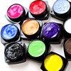 12 Colors Manicure 3D UV Sculpture Gel Nail Art Tip Creative Decoration Beauty M01807