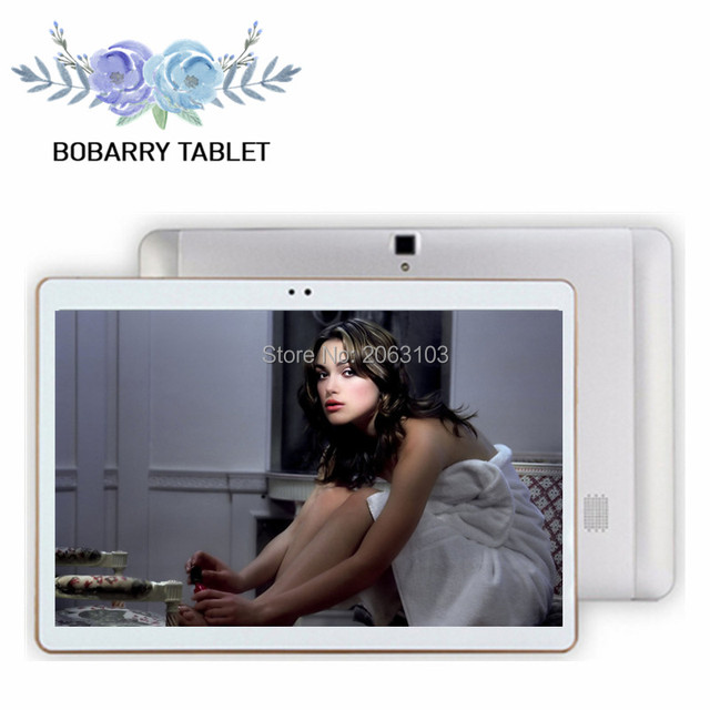 S106 bobarry 10 polegada tablets telefonema octa core 4g let tablet Android 6.0 4 GB/32 GB tablet pc, o melhor presente de Natal para ele Tabela