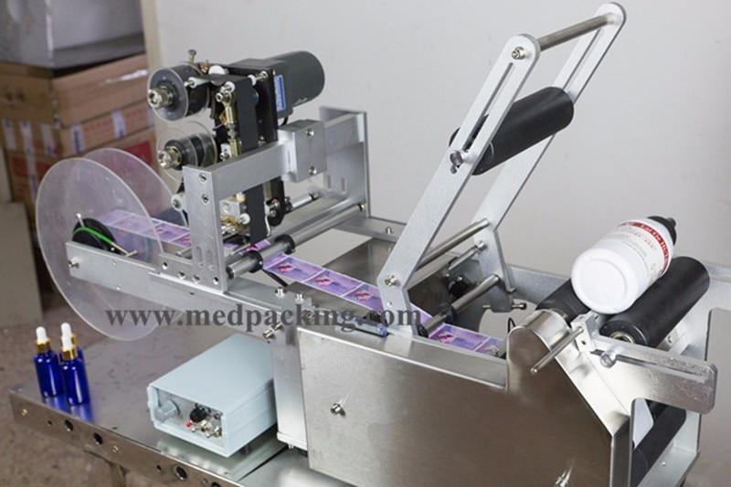 Круглый Этикетировочная машина бутылки метки машина
