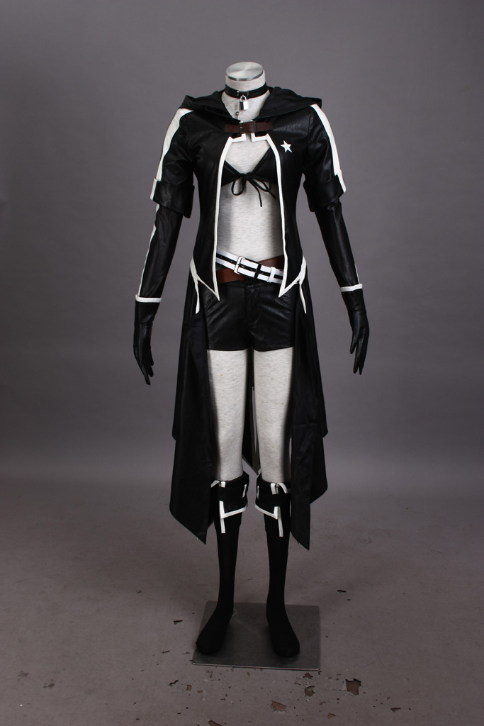 Image 2 - Vocaloid Insane Black Rock Shooter Cosplay Costume Tailor Made-in Anime Costumes from Novelty & Special Use