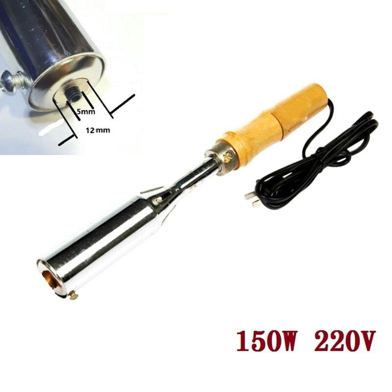 150 W 220 V fer à souder électrique gaufrage à chaud estampage en cuir impression LOGO estampage Machine en cuir gâteau marque