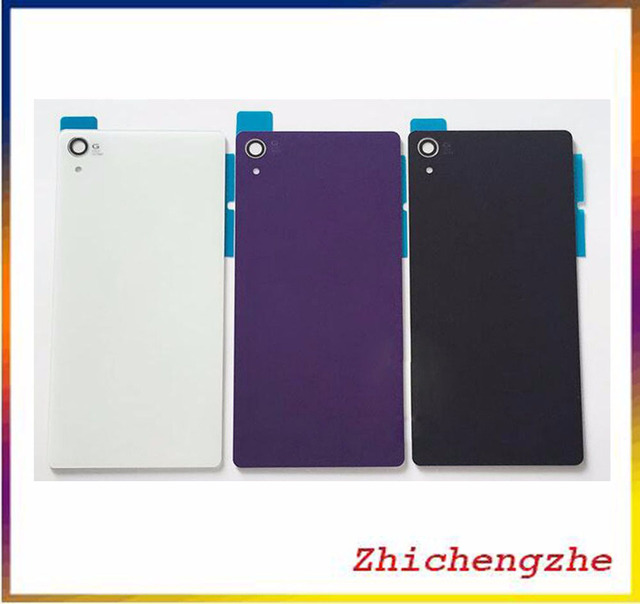 save off 4e1ae 70df3 US $1.99 |For Sony Xperia Z2 L50W D6502 D6503 D6543 Rear Glass Battery Door  Back Cover Housing Replacement-in Mobile Phone Housings from Cellphones &  ...