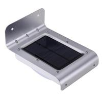 16 LED Solar Light IP65 Waterproof Wireless Outdoor Solar Powered PIR Motion Sensor Wall Lamps For