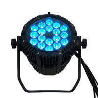 Top Seller Waterproof LED Par 18x18W RGBWA+UV DMX512 Outdoor IP65 LED DMX Stage Lighting Effect Master Slave Luces Discoteca