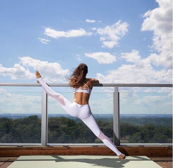 yoga pants sport leggings women seamless leggings elastic waist gym high waist leggins 001 sport women fitness gym shark