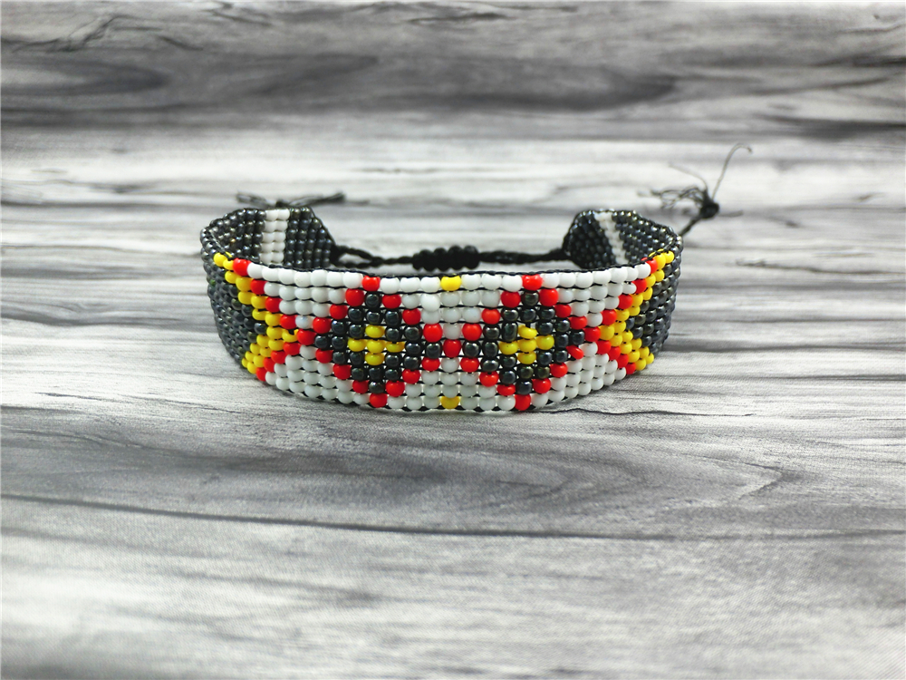 AMIU Handmade Friendship Bracelet Hippy Colorful Seed Beads Charm Friendship Trendy Bracelets For Women Men Christmas Day 18 4