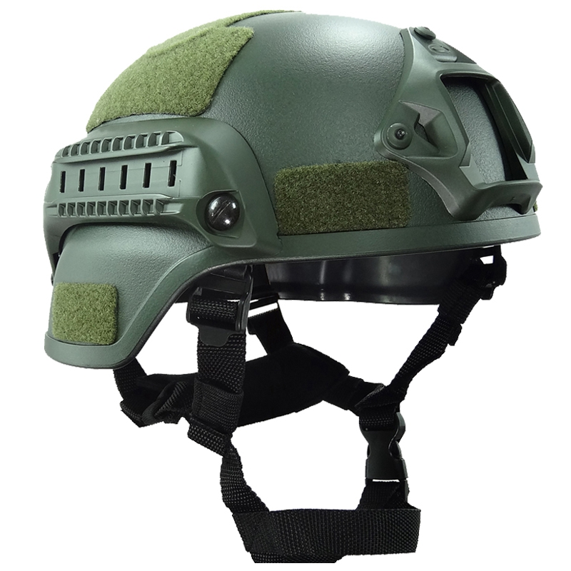 Military Helmet Ach Mich 2000 Army Tactical Paintball Wargame Helmets ABS Plastic Head Protector
